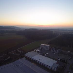 Abend - Blickrichtung Sonnenuntergang